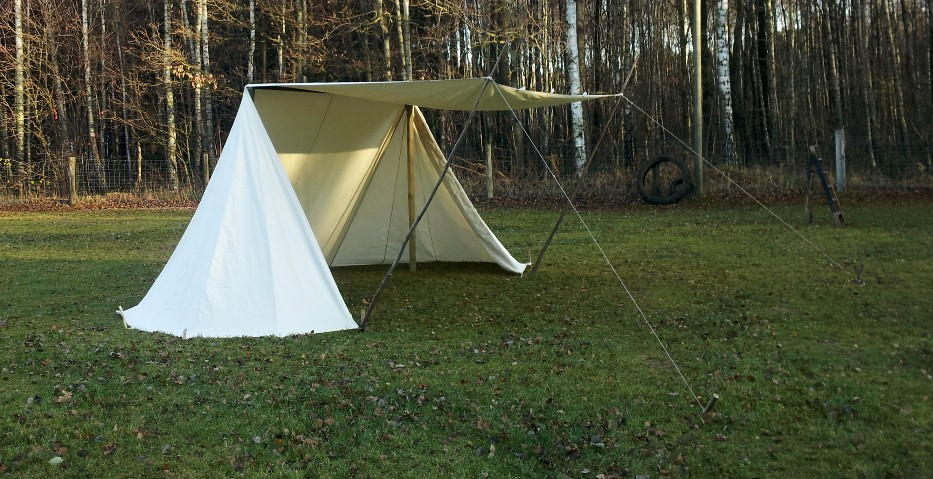 Zelt Baumwolle : Anglo saxon tent larp reenactment mittelalter zelt ritter